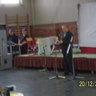 Sztányi Tibor polgármester köszönti a vendégeket.