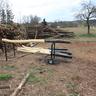Készülnek a kerítésoszlopok