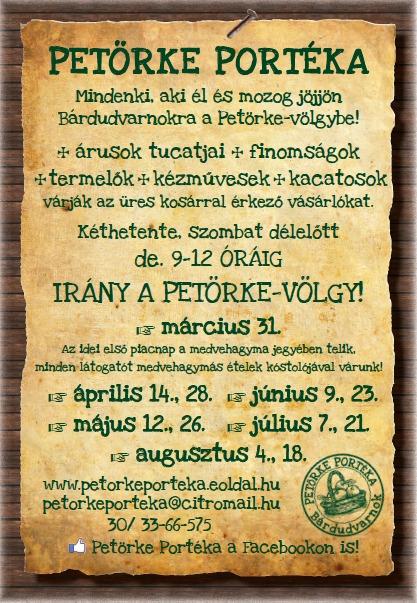 Petörke Portéka 2o12 márc. 31