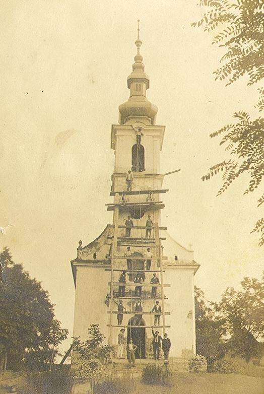 A Templom építése