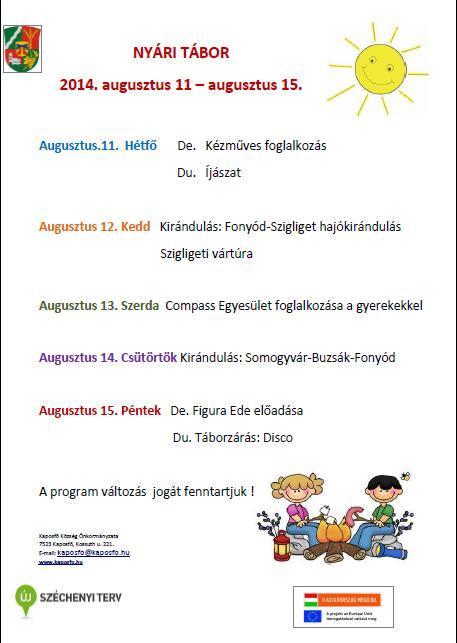 IX.hét program