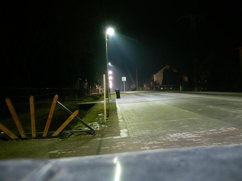 Dózsa Gy. utca LED fényben