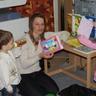 baba-mama szakkör a könyvtárban