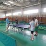 Asztaliteniszezés a Sportcsarnokban