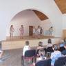 Turnus záró napon egy kis táncbemutató